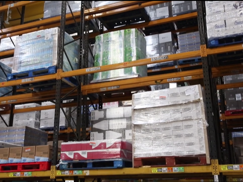 Stock at our J41 Logistics distribution centre